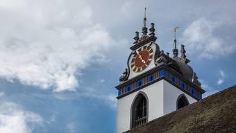Früher führte für Brautpaare kein Weg an der Stadtkirche vorbei. Chris Iseli/az-Archiv