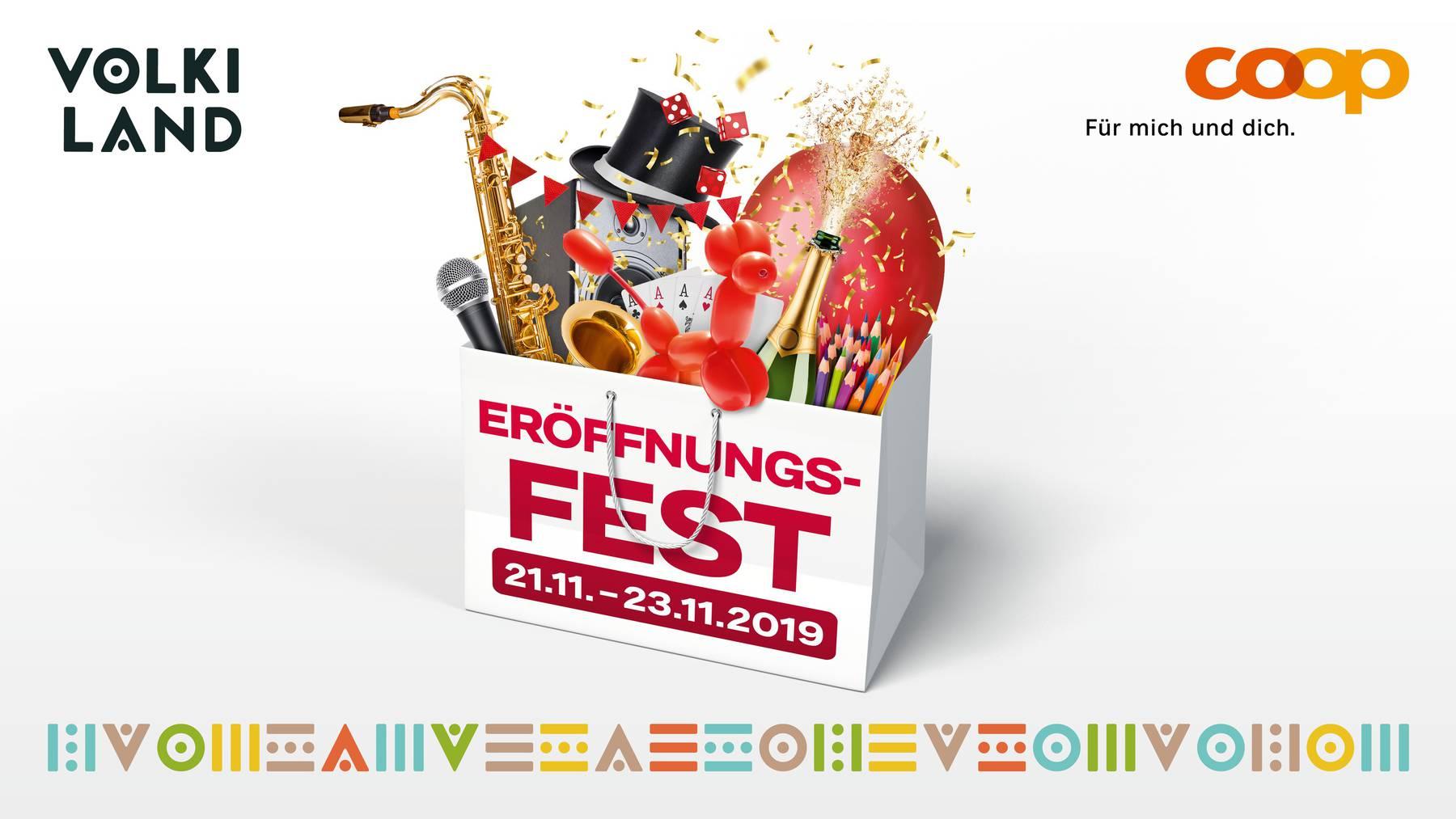 Volkiland Eröffnungsfest