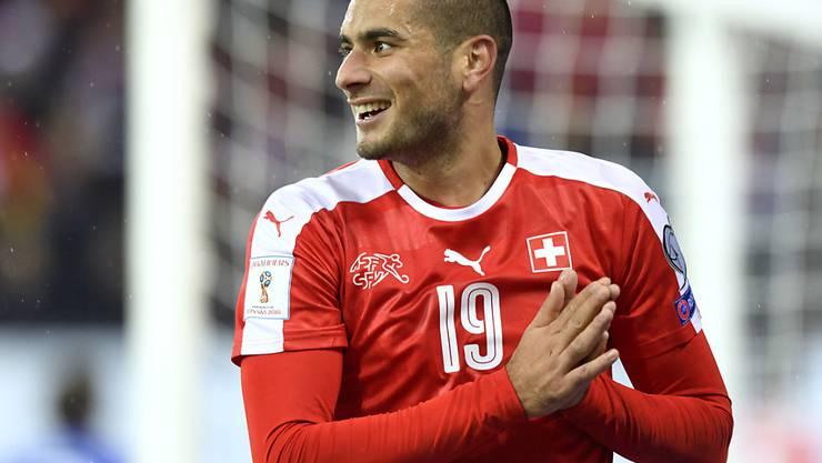 Eren Derdiyok liegt nach seinen 2 Toren auf Rang 2 in der türkischen Skorerliste