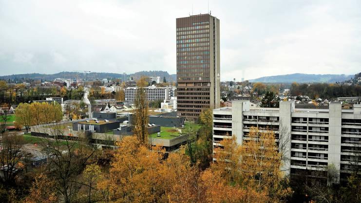 Das Finanzdepartement ist im Telli-Hochhaus untergebracht.