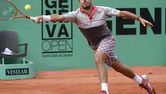 Vergeblich gestreckt: Stan Wawrinka scheidet am ersten Geneva Open aus