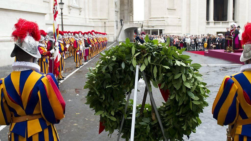 Am «Sacco di Roma» gedenken die Schweizergardisten dem Aufstand von 1527 in Rom - nächstes Jahr wird die Luzerner Regierung im Vatikan dabei sein, mit dem Segen des Parlaments. (Archivbild)