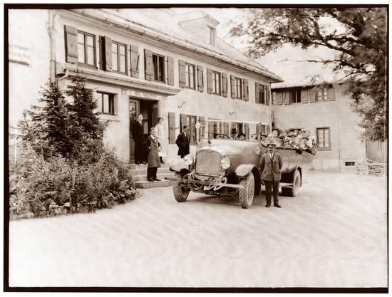 Das Kurhaus Weissenstein im Schnee