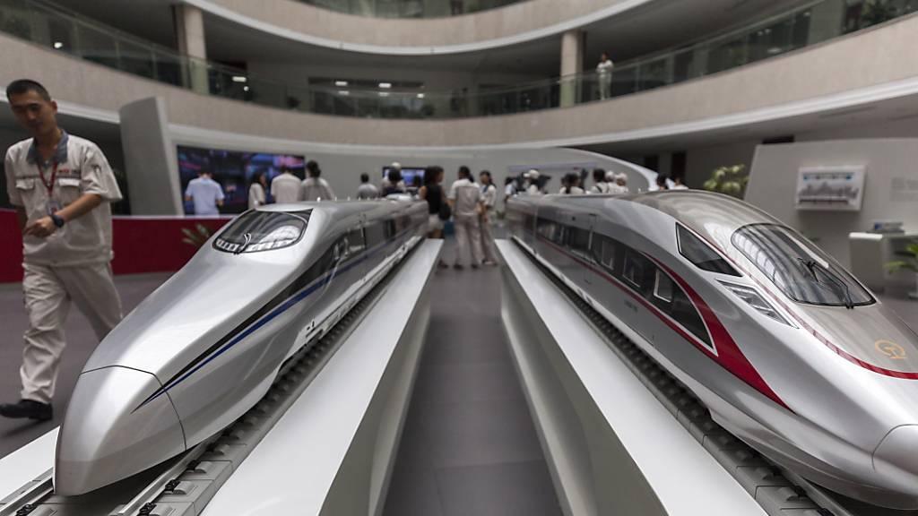 Der Bau von Ultraschnellzügen «Maglev» in Japan ist wegen Umweltbedenken ins Stocken geraten. (Symbolbild)