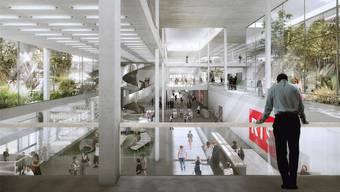 In Lausanne soll das Prestigeprojekt «Campus RTS» realisiert werden, in Zürich stoppte die SRG ein grosses Bauvorhaben.