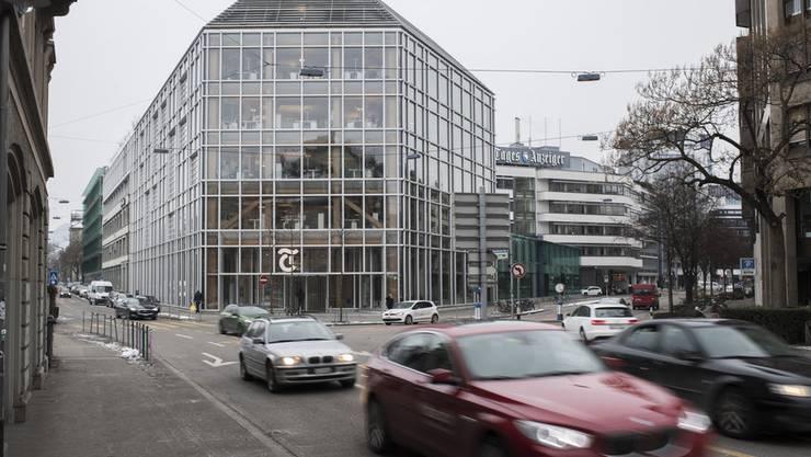 Zu viele Mitarbeitende: Der Tamedia-Hauptsitz an der Zürcher Werdstrasse.