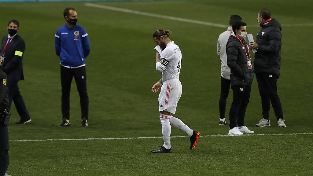 Sergio Ramos wochenlang out