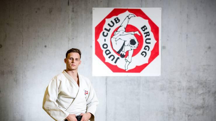 Will mit seinen Brugger Teamkollegen um den Titel kämpfe: Judoka und Schweizer Meister Michael Kistler.