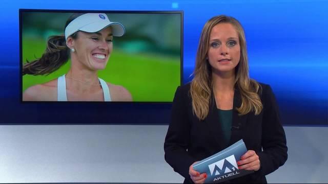 Martina Hingis gibt Rücktritt bekannt