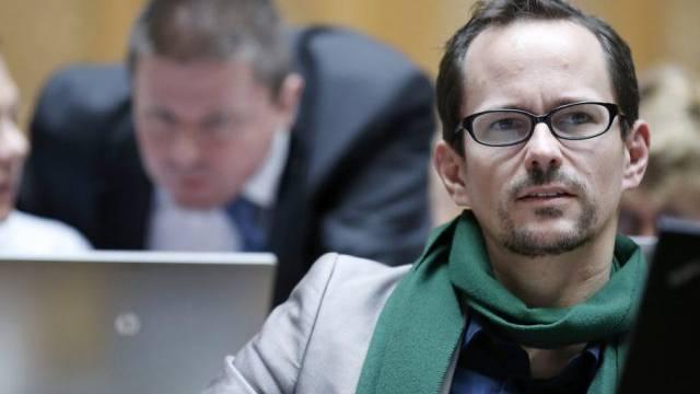 Grünen-Nationalrat Balthasar Glättli im Ratssaal (Archiv)