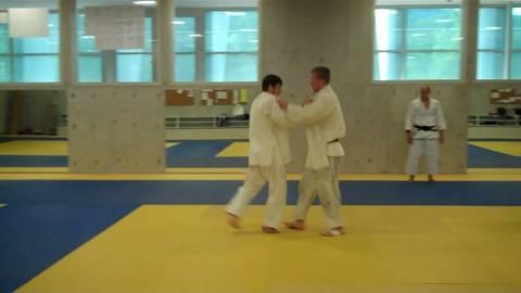 Trainingsbesuch bei Ciril Grossklaus