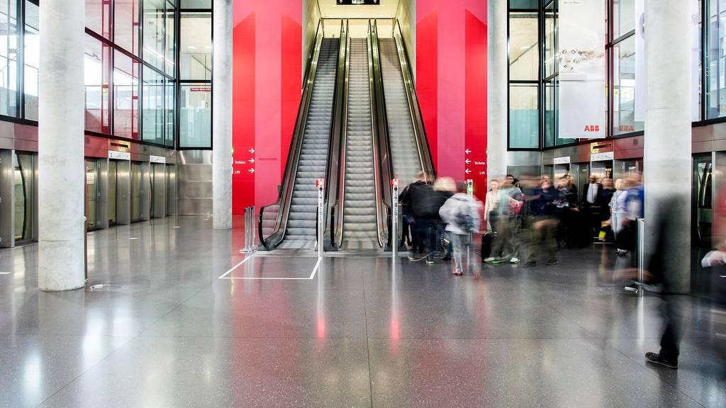Die Passagierzahlen nehmen am Flughafen Zürich wieder zu