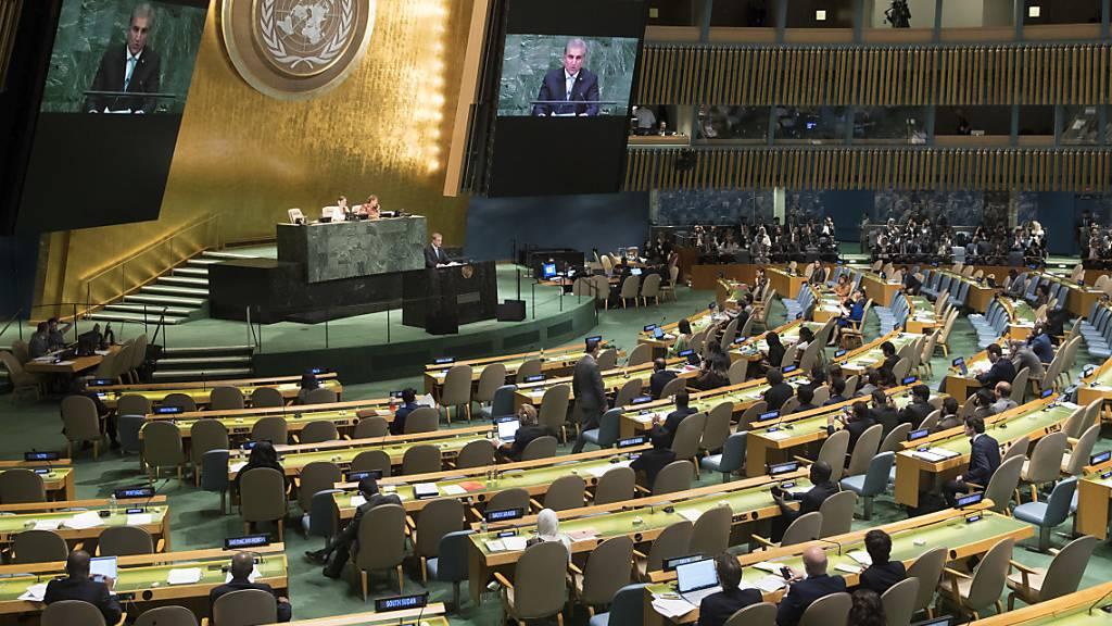 Uno-Chef Guterres schlägt Vollversammlung mit Videobotschaften vor