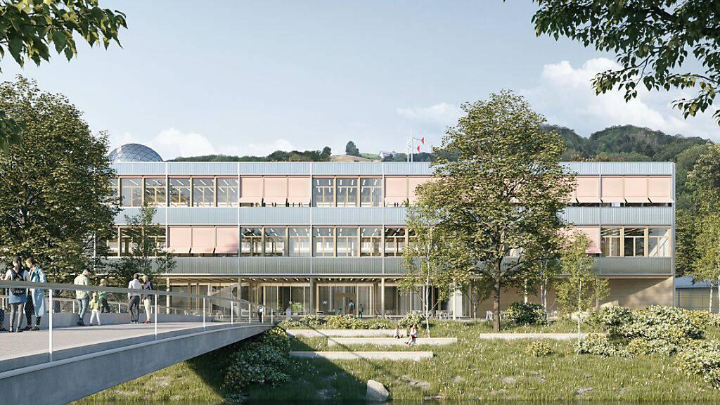 Zürcher Architekturbüro gewinnt Wettbewerb für Kanti Wattwil