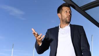 Hält eisern an Trainer Thorsten Fink fest: Mathias Walther.