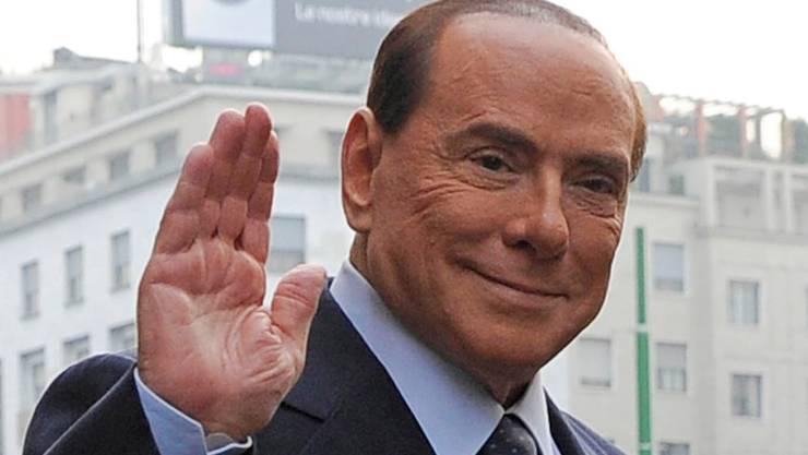 Silvio Berlusconi deutet an, er werde 2013 zum sechsten Mal für das Amt des Premiers antreten. AP/Key