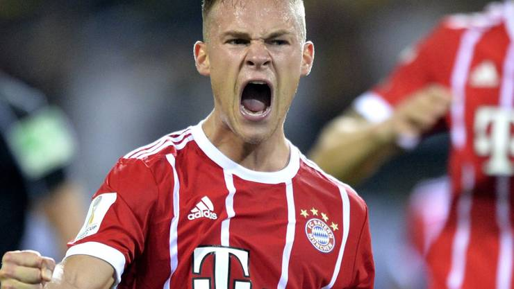 Erster, allerdings bedeutungsarmer Titel für Bayern München mit Joshua Kimmich durch den Sieg im Supercup gegen Dortmund