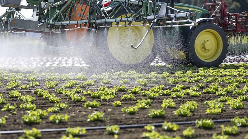 Ständerat verabschiedet eigene Vorlage zu Pestizid-Reduktion