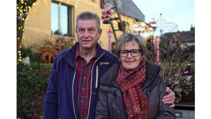 René und Romy Meury dekorieren seit 20 Jahren ihr Haus.