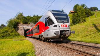 Noch sitzt im Führerstand der SOB-Züge eine Person – bald wird getestet, ob es auch ohne geht.Südostbahn