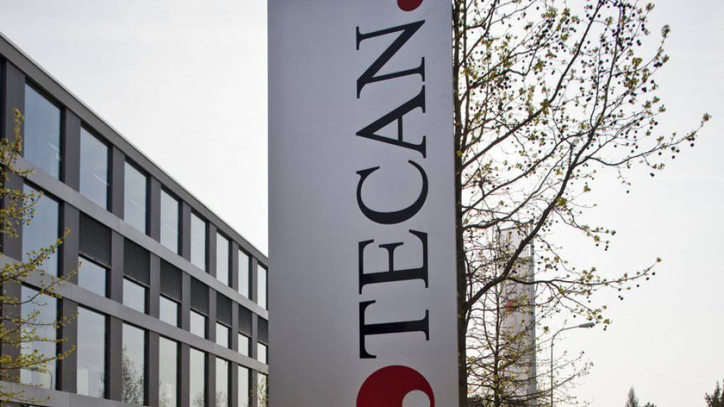 Auf Wachstumskurs: Tecan steigerte den Umsatz 2016 um 15 Prozent. Der Labortechnikhersteller aus Männedorf ZH will auch mittelfristig stärker als der Markt zulegen.