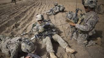 US-Soldaten im Einsatz im Afghanistan