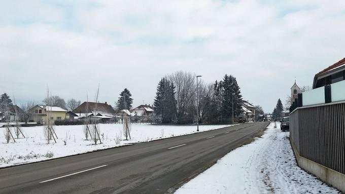 Die Bärenmatte in Rüti b. Büren. Hier möchte Investor Rudolf Schneider ein Motel bauen.
