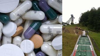 Der Aargauer Automobilist stand bei seiner «Schanzenfahrt» laut Aussagen seines Vaters unter Einfluss von Medikamenten.