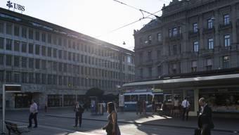 An der Bahnhofstrasse 17 in Zürich arbeitete Emil Schärr bei der damals angesehenen «Eidgenössischen Bank in Bern». (Symbolbild)
