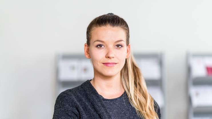 """Das Selbsthilfezentrum Aargau hat kürzlich eine neue Selbsthilfegruppe gegründet. Die """"Absolute Beginners"""" sind Erwachsene ohne - oder mit wenig - Beziehungserfahrung. Im Bild: Sozialarbeiterin Angela Mosimann vom Selbsthilfezentrum."""