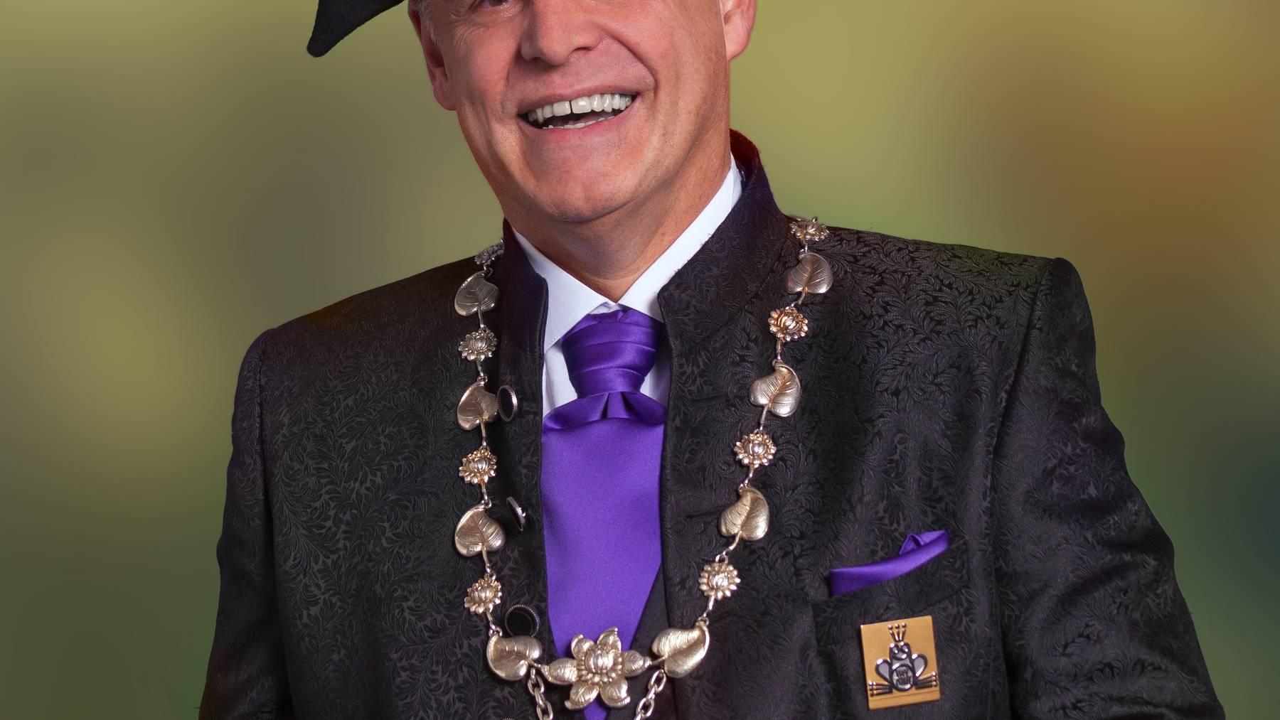 Das ist Weyzunftmeister Rolf Sainsbury
