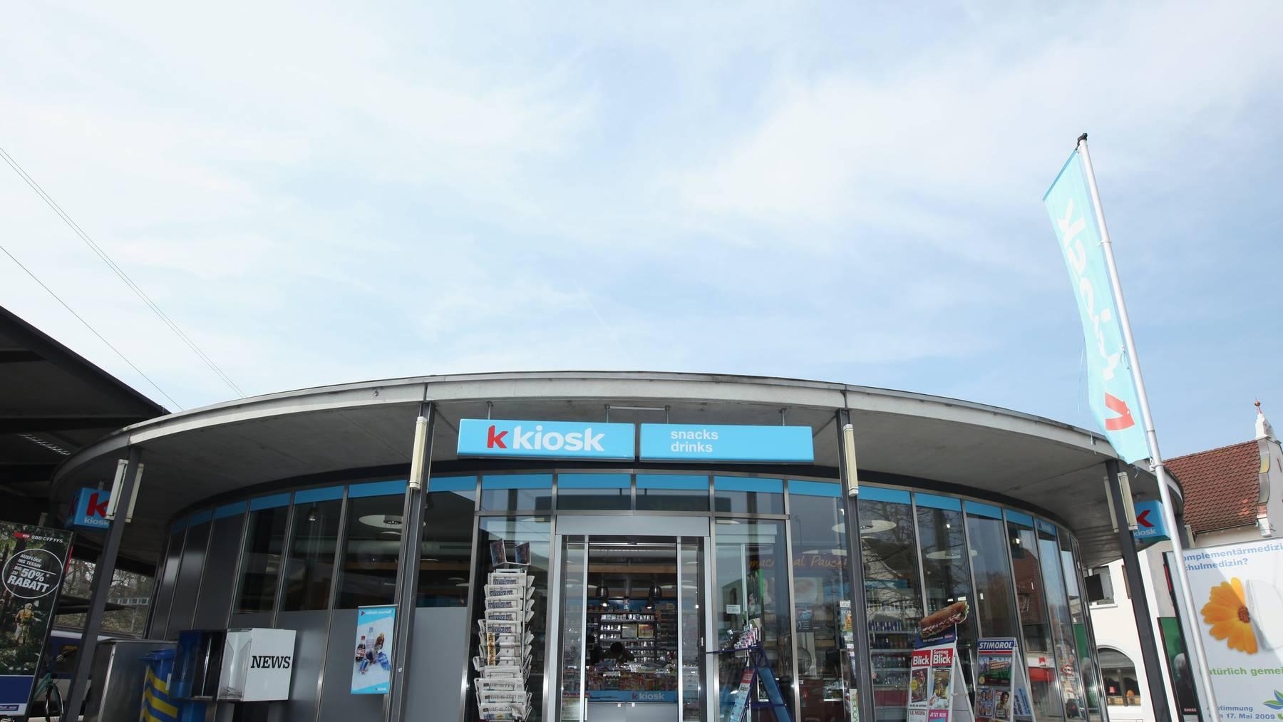 Die Valora-Gruppe betreibt unter anderem die K-Kiosk-Verkaufsstellen.