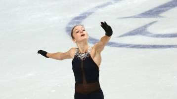 Auch Anna de la Porta kann begeistern, trotz misslungenem Start sichert sie sich die Silbermedaille.
