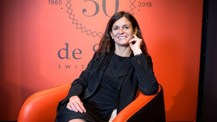 Monika Walser, CEO bei de Sede: «Ich war ja die dritte Chefin innert kürzester Zeit, das war für die Belegschaft sicher nicht einfach.»