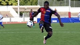 Neftali Manzambi konnte im Spiel gegen Breitenrain keinen Treffer erzielen.