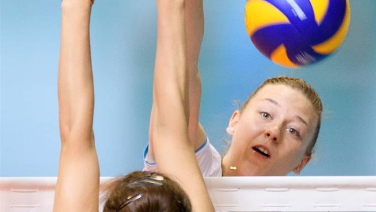 Maja Storck im Einsatz für das Schweizer Nationalteam.Keystone