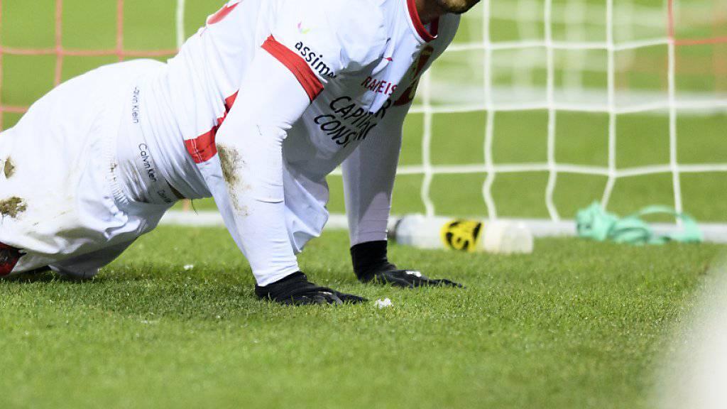 Mit dem FC Sion am Ende der Super-League-Rangliste: Pajtim Kasami