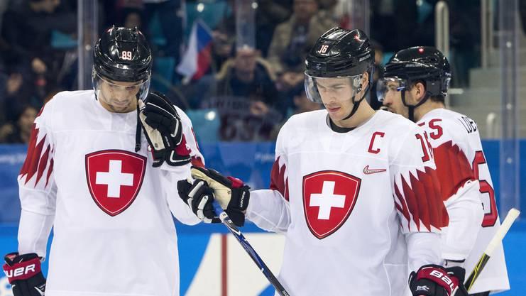 In Pyeongchang enttäuschte die Schweizer Nationalmannschaft schwer.