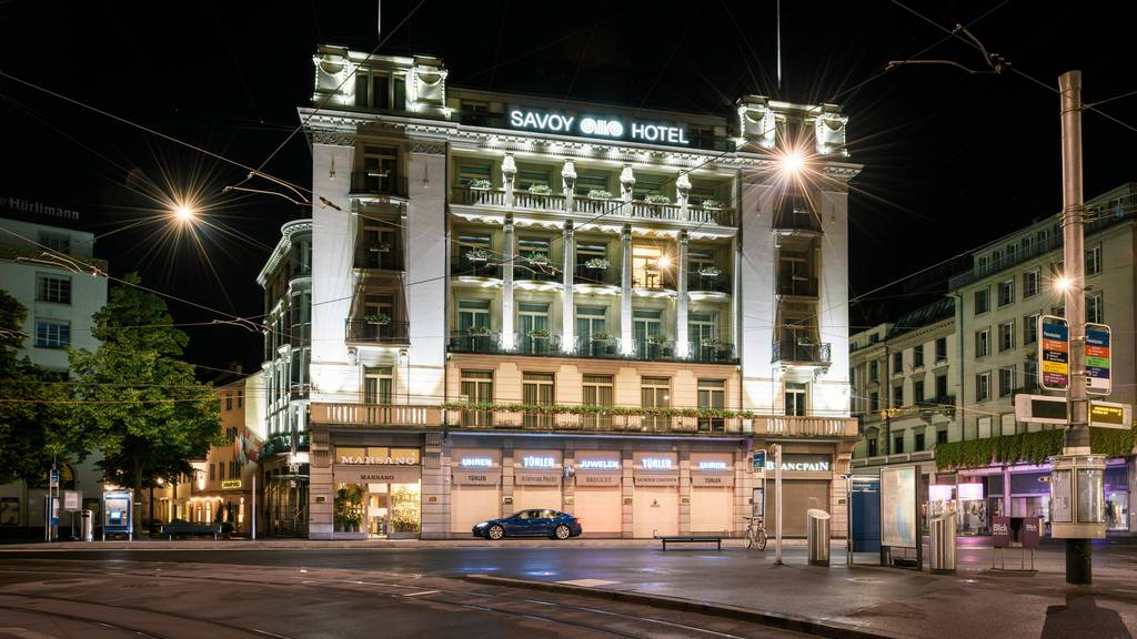 Asiatische Luxuskette übernimmt das Zürcher Hotel Savoy