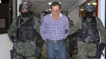 Der mexikanische Drogenboss Héctor Beltrán Leyva ist am Sonntag in Polizeigewahrsam an einem Herzinfarkt verstorben. (Archivbild)