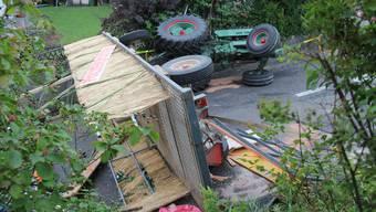Polterabend in Wohlen endet in tragischem Unfall mit 18 Verletzten
