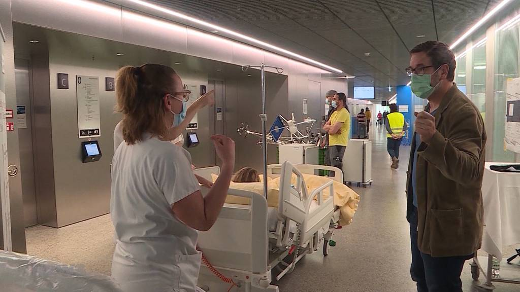 Bürgerspital Solothurn zieht um: So erleben Patienten den Umzug in den Neubau
