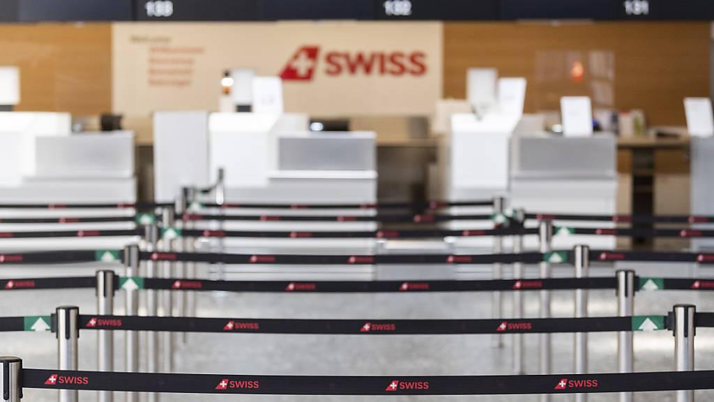 98,4 Prozent weniger Passagiere am Flughafen Zürich im Mai