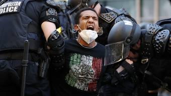 Proteste in der US-Hauptstadt Washington: Eine Steilvorlage für die chinesische Propaganda.