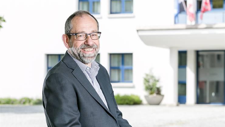 Gemeinderat Peter Stucki (SP) will Gemeindeammann werden: «Ich bin ein pragmatischer Problemlöser mit Nehmerqualitäten.» Sandra Ardizzone