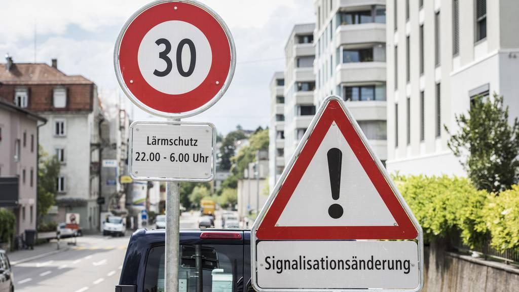 Weitgehend Tempo 30 in der Stadt Zürich