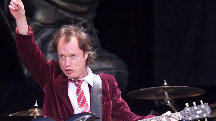There will be rock:: Angus Young, Identifikationsfigur von AC/DC.