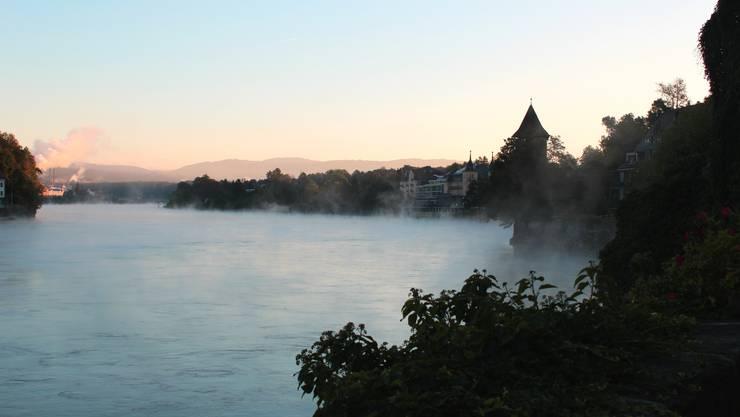 In Basel eher selten, in Rheinfelden bekannt: Der frühe Herbstnebel.
