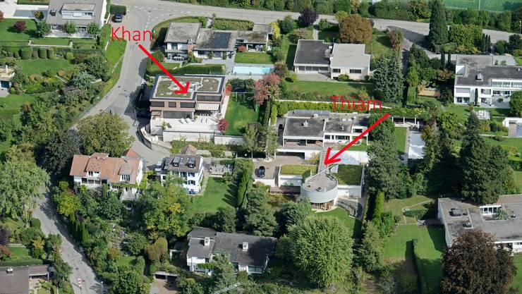 Das Anwesen von Tidjane Thiam lag unmittelbar neben demjenigen des heutigen UBS-Managers Iqbal Khan.