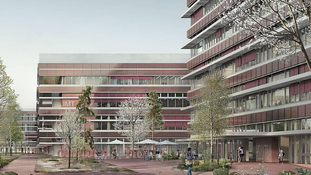 Siegerprojekt Gravity: Campus Horw erhält zwei neue Hauptgebäude